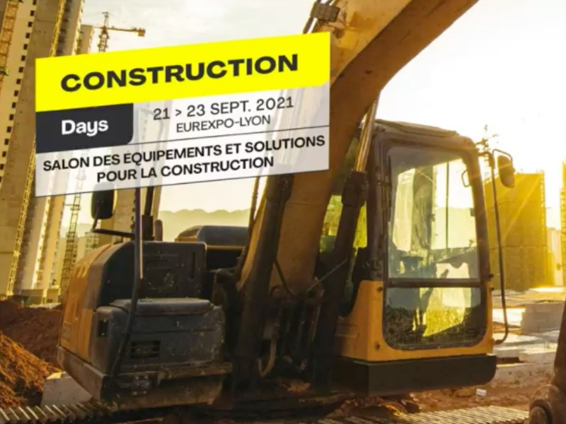« Construction Days», un nouveau salon dédié au secteur de la construction à Lyon - Batiweb