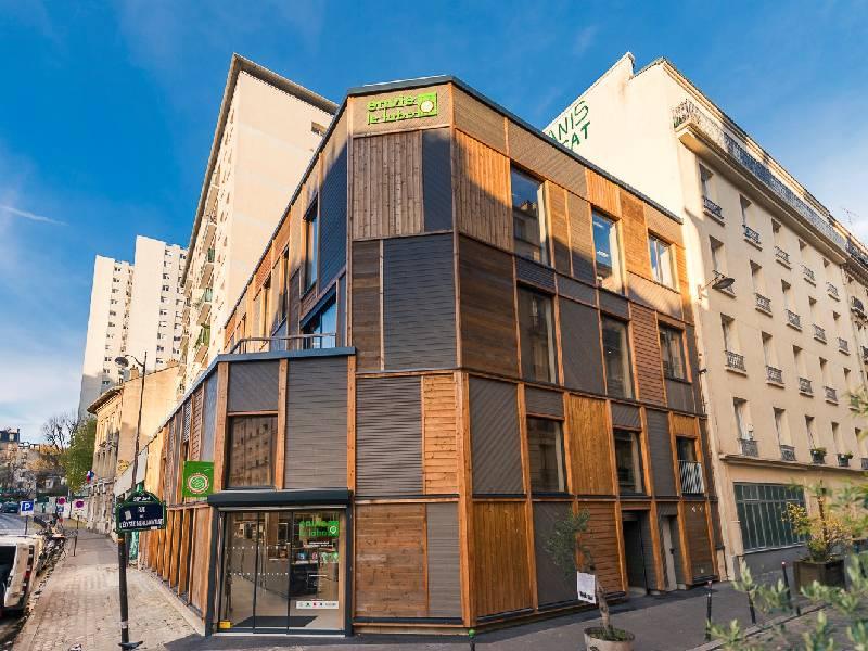 Économie circulaire : « Envie le Labo », un éco-lieu au coeur de Paris - Batiweb