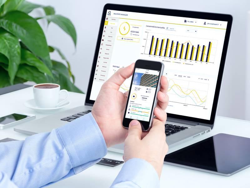 iQspot, des capteurs pour une collecte en temps réel des consommations - Batiweb