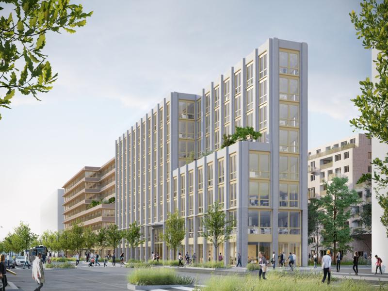Manubois et Bouygues Bâtiment se lancent dans un projet en hêtre lamellé-collé - Batiweb