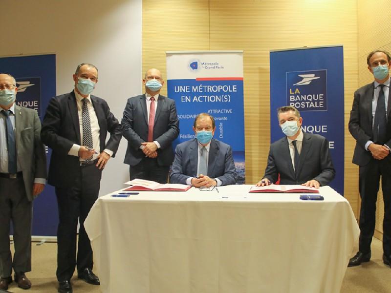 La Métropole du Grand Paris et la Banque Postale s'engagent en faveur de la rénovation énergétique - Batiweb