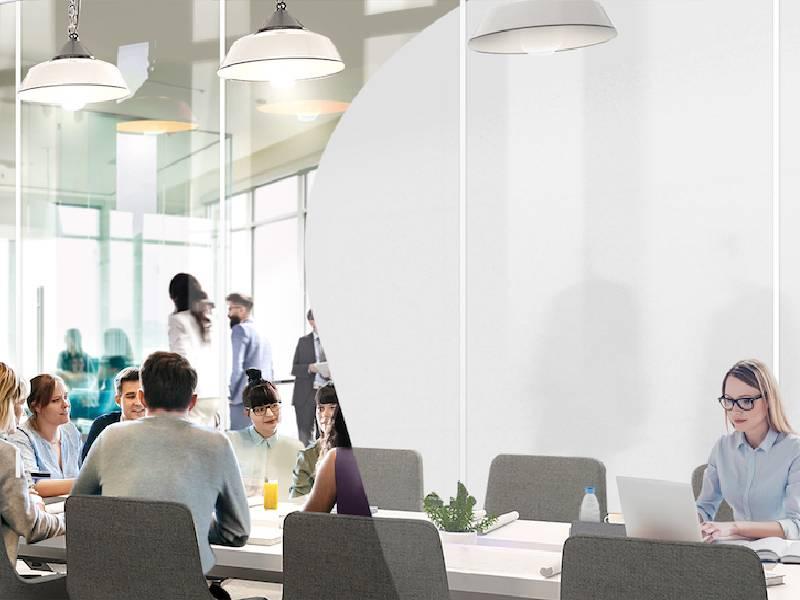 Avec son vitrage dynamique, eyrise® apporte de la flexibilité aux bâtiments - Batiweb