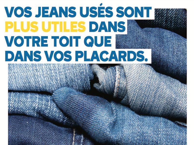 Recyclage: des vieux jeans transformés en isolants pour les bâtiments - Batiweb