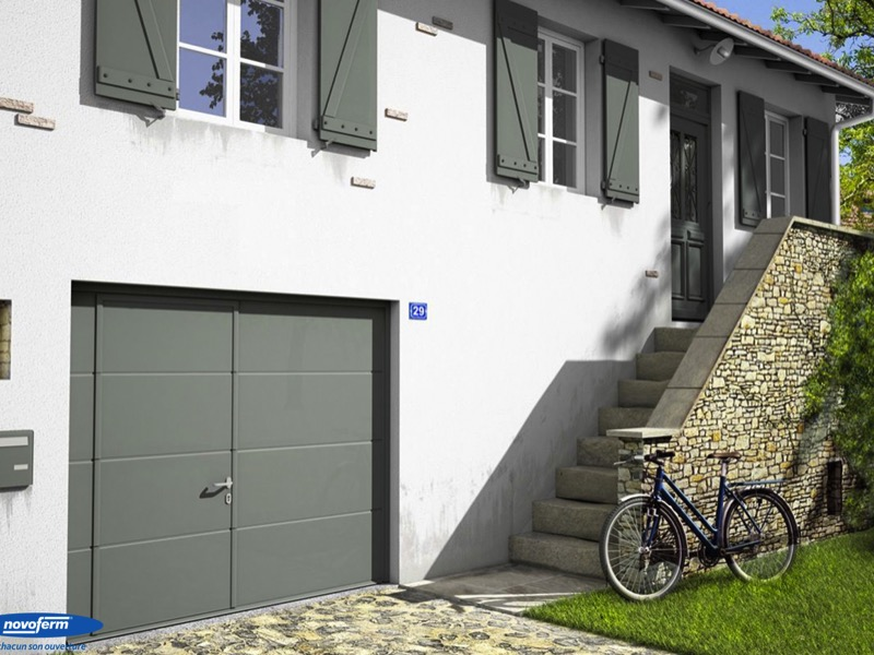 La porte de garage, un marché qui s'ouvre aux besoins en personnalisation - Batiweb