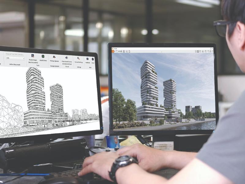 Enscape 3.0 facilite la conception et la visualisation des projets d'architecture - Batiweb