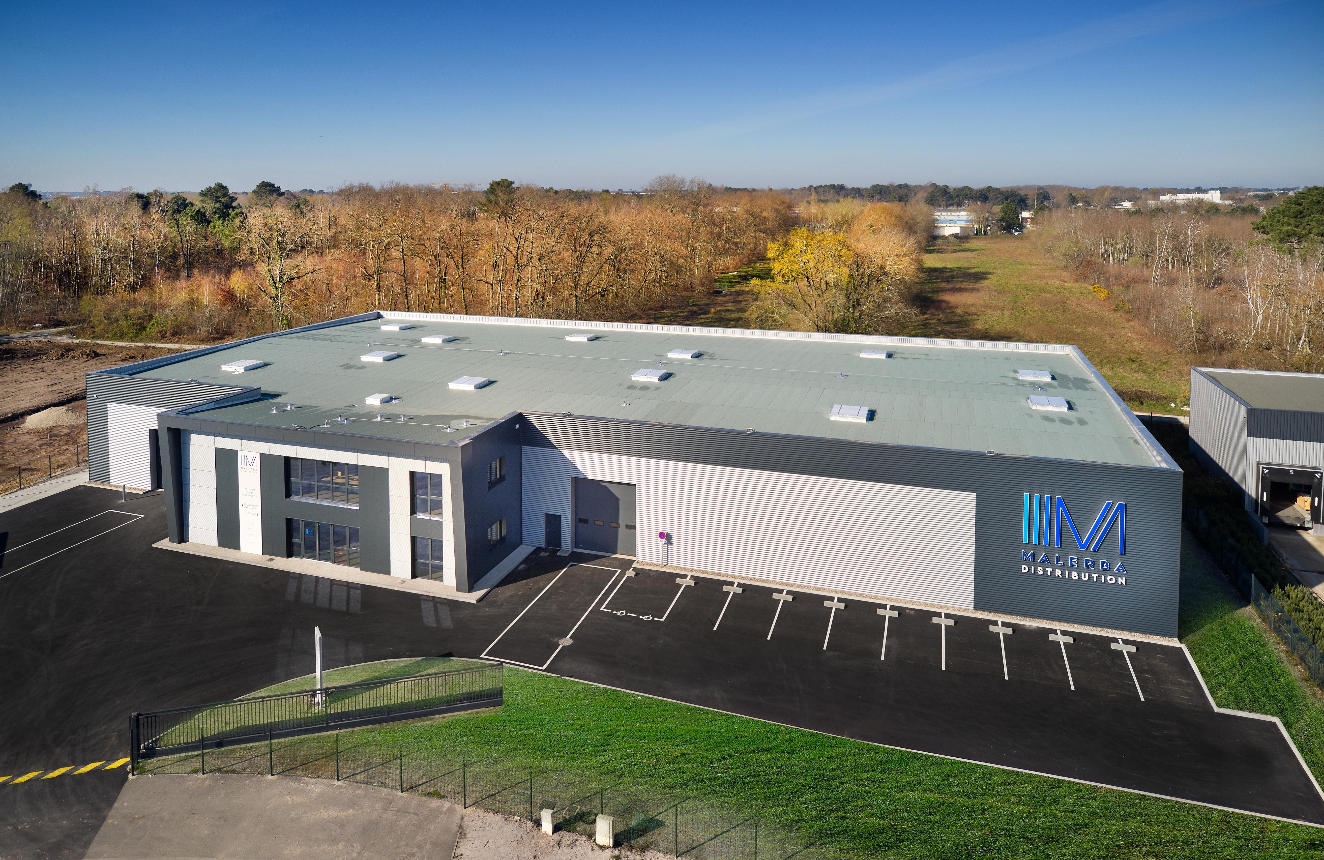 Malerba ouvre un nouveau centre de distribution près de Bordeaux - Batiweb