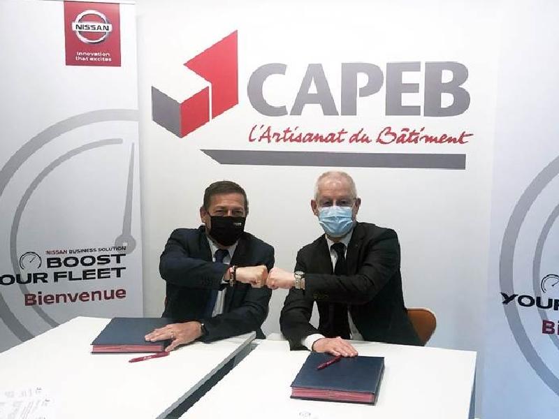 La Capeb s'associe à Nissan pour faciliter l'accès aux véhicules utilitaires - Batiweb