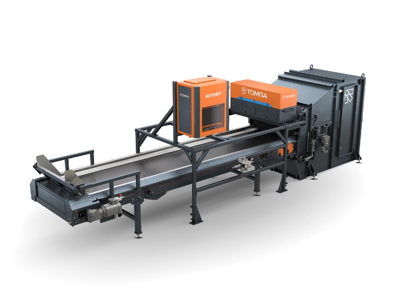 Le système de tri TOMRA Autosort® augmente les capacités de recyclage - Batiweb