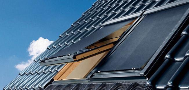 Velux fenêtre de toit à occultation extérieure