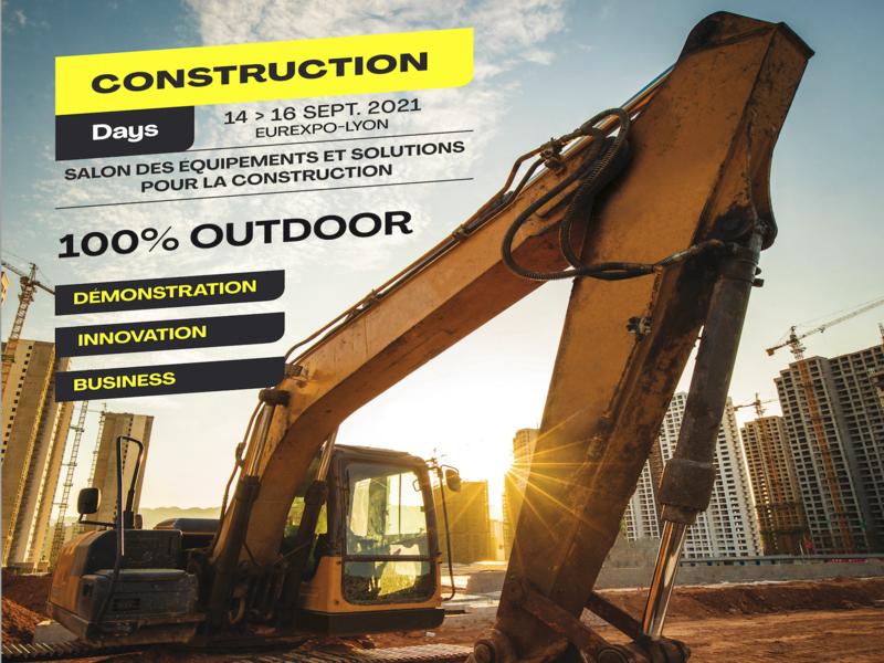 Les Construction Days, un nouveau salon 100 % «outdoor» - Batiweb