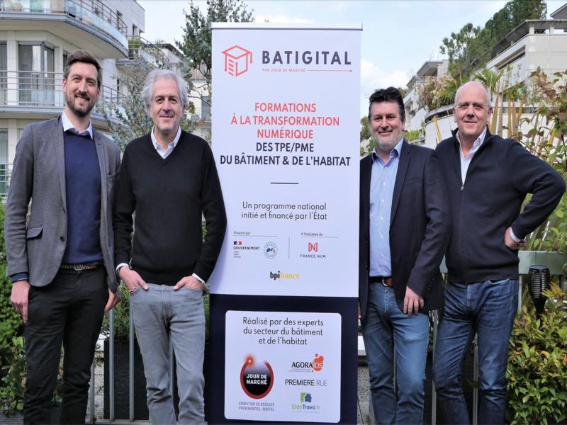 Transition digitale: «Batigital» forme gratuitement les professionnels du bâtiment - Batiweb