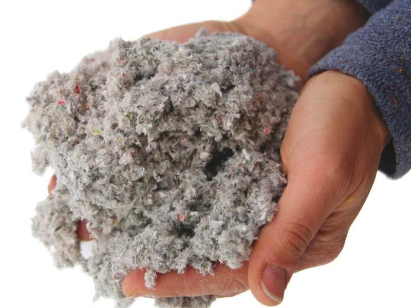 La ouate de cellulose, un isolant biosourcé performant - Batiweb