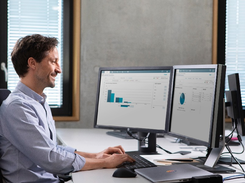 Avec «Stream», Hager propose de visualiser les consommations d'énergie multi-sites - Batiweb