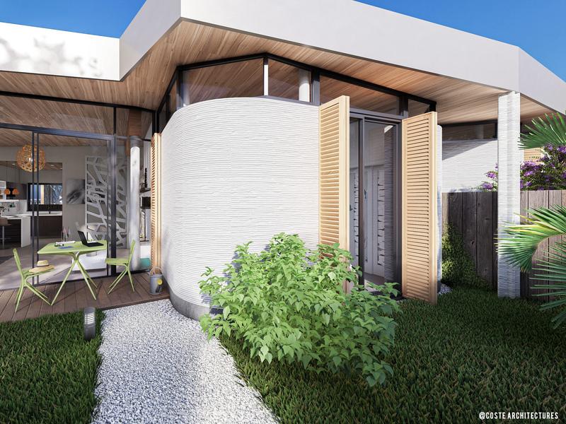 Impression 3D : les premiers murs du chantier Viliaprint ont été assemblés ! - Batiweb
