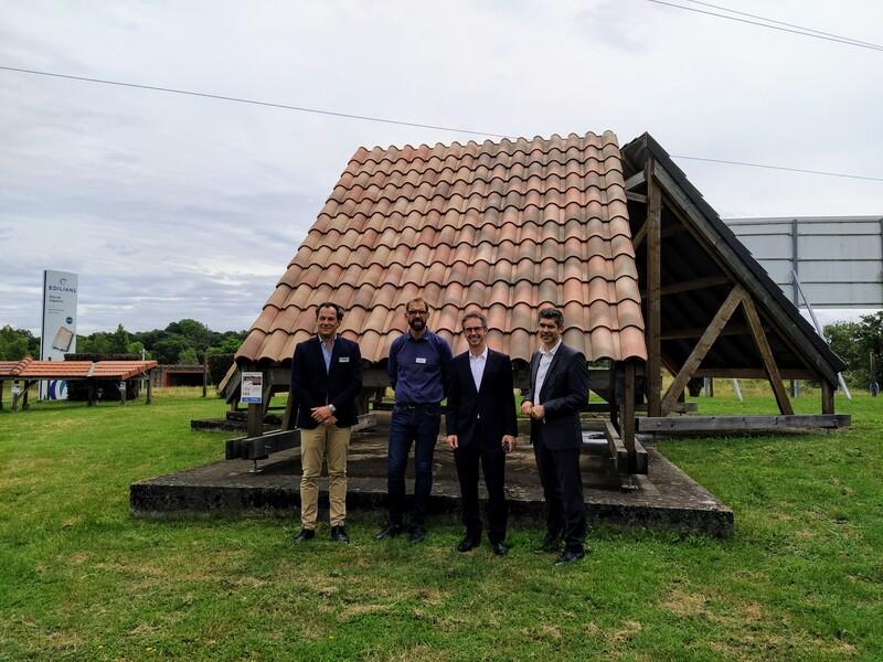Dans la tuilerie de Léguevin (31), le groupe Edilians mise sur la rénovation - Batiweb