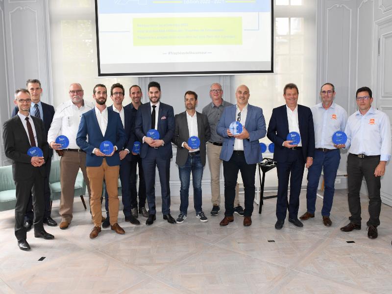 Trophées de l'Ascenseur 2021, entre innovation et lutte pour la mobilité verticale des séniors - Batiweb