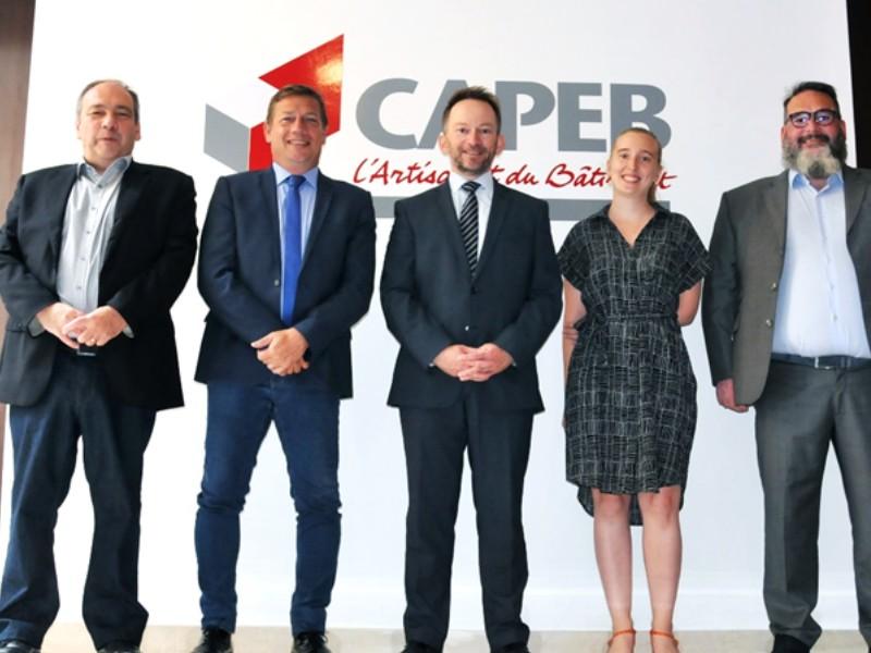 La Capeb, Uzin Utz France et Iris-ST reconduisent leur partenariat - Batiweb
