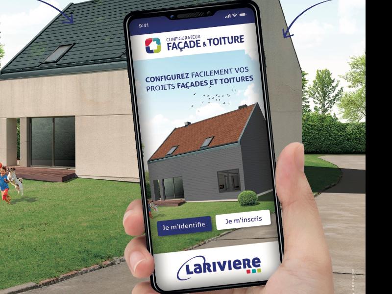 Un configurateur pour façades et toitures signé Larivière - Batiweb