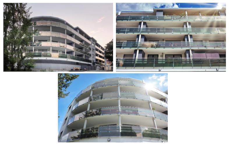 Des façades en verre qui captent et produisent de l'énergie d'origine solaire - Batiweb