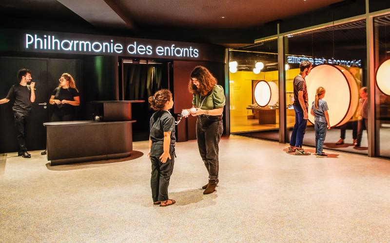 Les sols Tarkett revêtent la Philharmonie de Paris - Batiweb