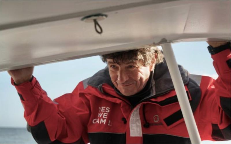 Jean Le Cam, parrain du Challenge des Métiers du Plâtre - Batiweb