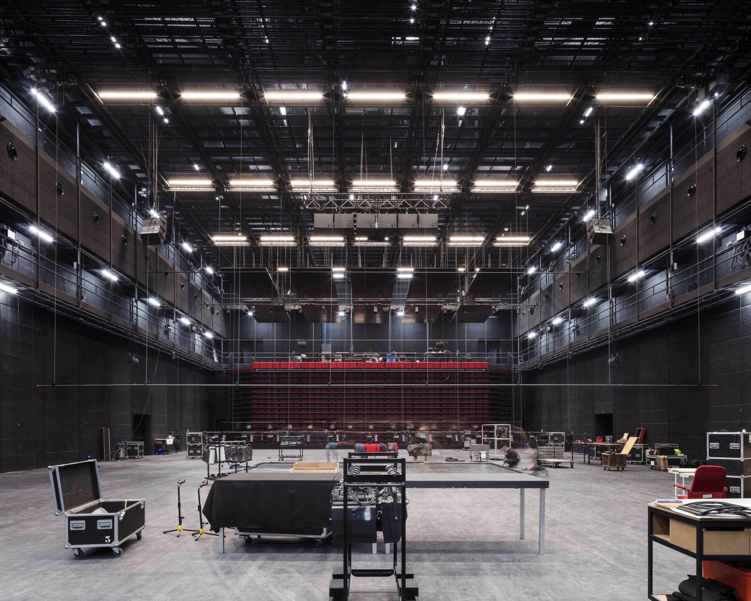 Nouveau Théâtre Maillon parLAN (Local Architecture Network)- Crédit photo : Charly Broyez