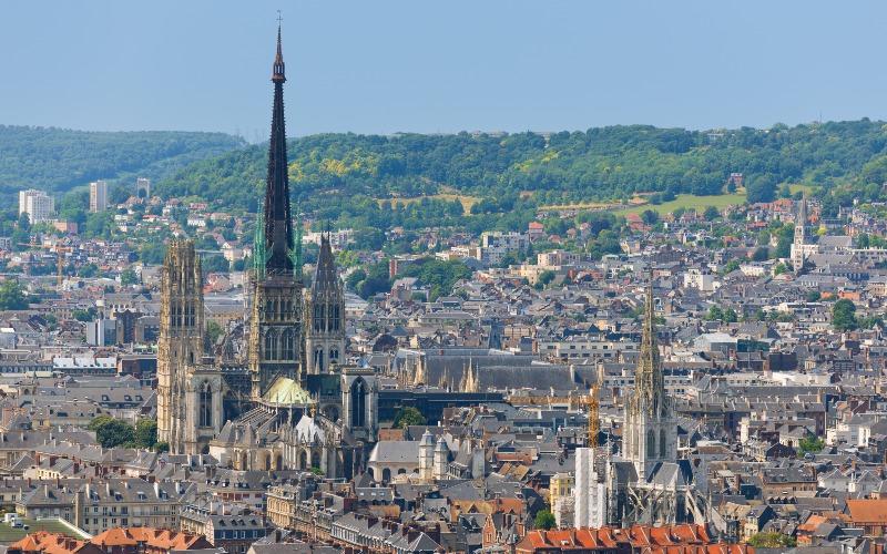 Cathédrale de Rouen : Tubesca-Comabi entame la 4ème phase de travaux - Batiweb