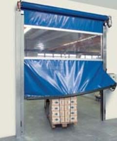 La Protection anticrash de série pour portes rapides souples - Batiweb