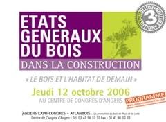 A vos agenda, 'Le bois et l'habitat de demain' - Batiweb