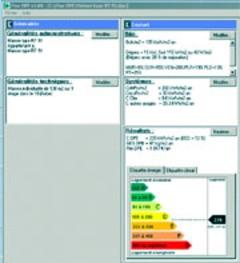 Un logiciel pour le Diagnostic de Performance Energetique - Batiweb