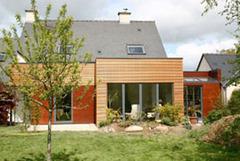 Une extension en bois pour changer de maison ... - Batiweb