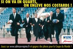 SALMSON et REPMO « mouillent le maillot » à l'occasion de la Coupe du Monde de Rugby - Batiweb
