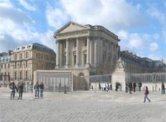 Vinci, mécène pour la réalisation du pavillon d'accueil du Chateau de Versailles - Batiweb