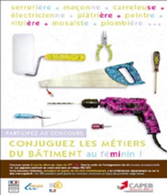 Collégiens, collégiennes : participez au concours CAPEB « Conjuguez les métiers du bâtiment au féminin ! »  - Batiweb