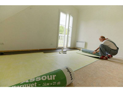 Isolation acoustique sol - ASSOUR PARQUET Batiweb
