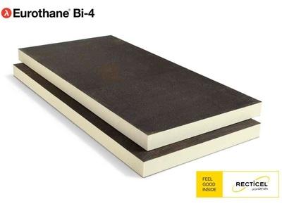 Eurothane® Bi-4, le panneau support d'étanchéité bitume, apparente, sous protection lourde ou collée à froid Batiweb