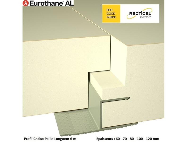 Eurothane® AL, panneau thermique très grand format pour bâtiments agricoles - Batiweb