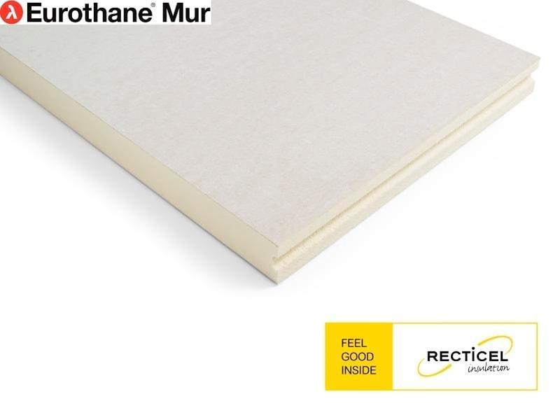 Eurothane® Mur, le panneau d'isolation thermique ultra-mince pour la contre cloison Batiweb