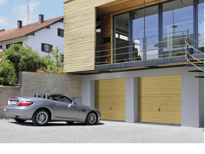 La porte de garage basculante Berry - Batiweb