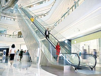 Escaliers mécaniques Schindler 9300 Batiweb