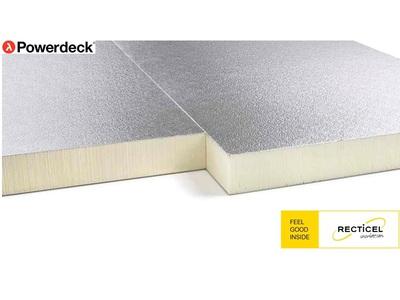 Powerdeck® et Powerdeck® F, le panneau support d'étanchéité sur acier ou bois Batiweb