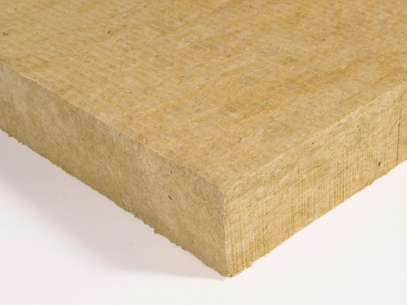 Rockacier B Nu, panneau isolant en laine de roche pour toitures terrasses inaccessibles - Batiweb