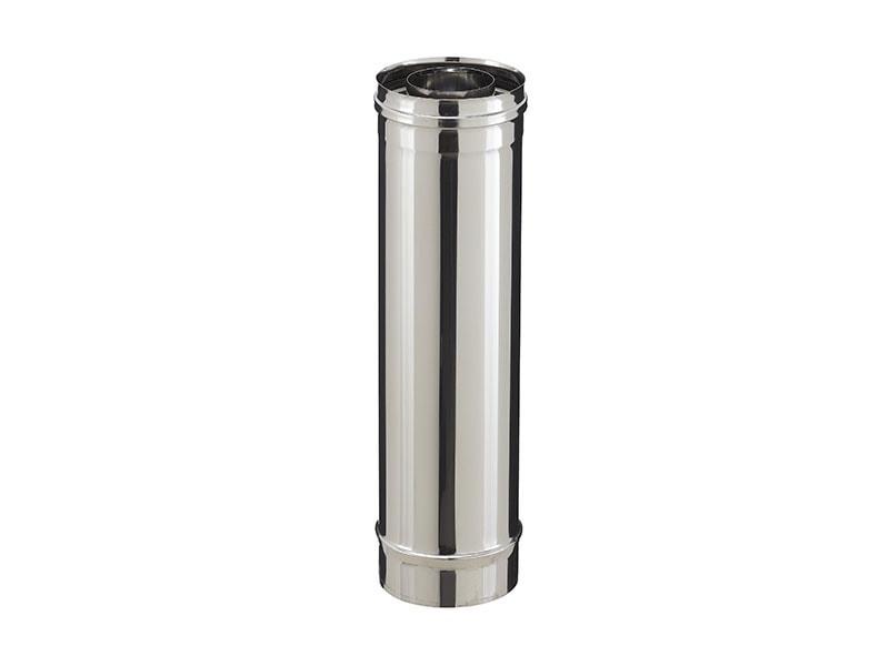 PGI - Conduit de fumée inox concentrique pour appareils granulés - Batiweb
