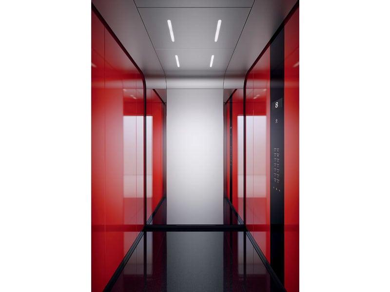 Ascenseur Schindler 5500 - Ascenseur grand trafic pour tout type d'immeubles jusqu'à 50 niveaux
