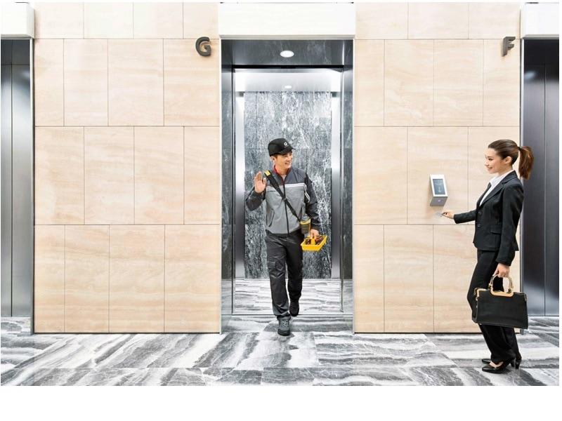Ascenseur Schindler 7000 - Batiweb