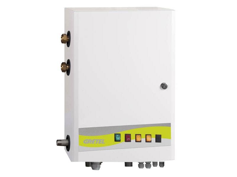 Module et appoint électrique AES bois/solaire de 6 à 18 Kw - Batiweb