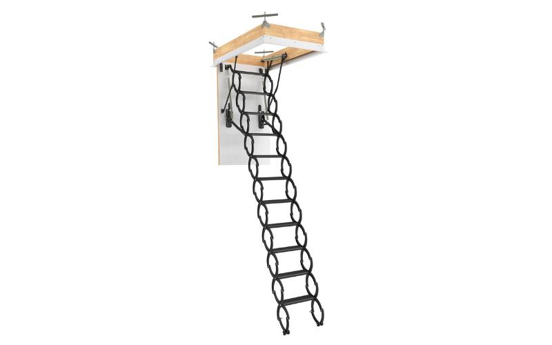 Escalier escamotable avec échelle en ciseaux LST FAKRO - Batiweb