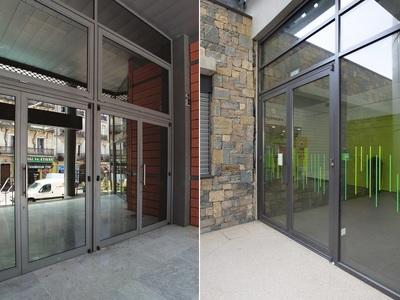Porte soudée K190 RPT à rupture thermique et garantie à vie Batiweb