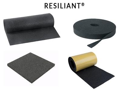 Anti-vibratoires RESILIANT® Batiweb