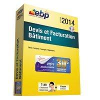 Logiciel de gestion EBP DEVIS ET FACTURATION BATIMENT 2014 - Batiweb